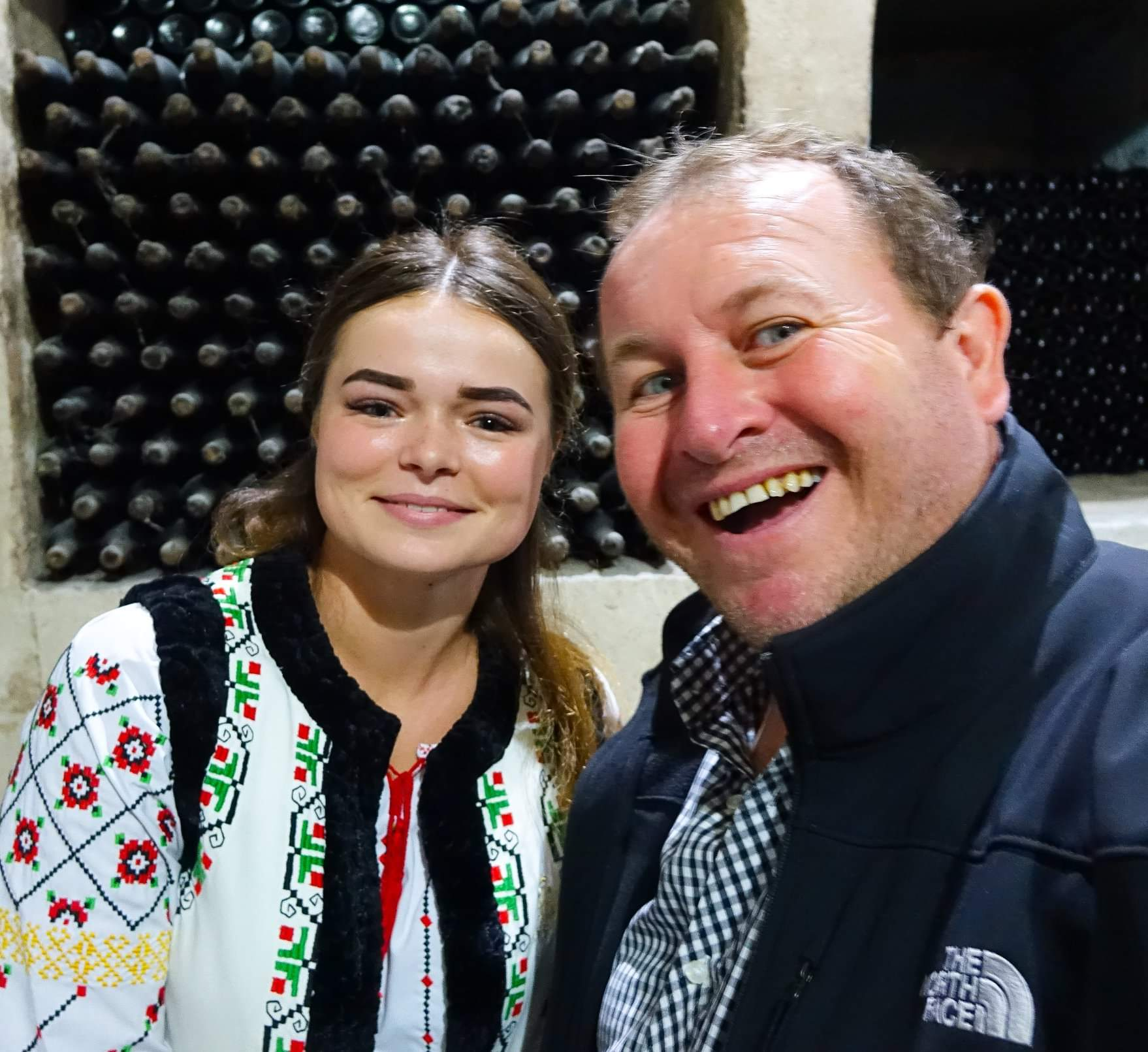Chisinau, Moldova. Visiting the largest wine collection in the word at Milestii Mici