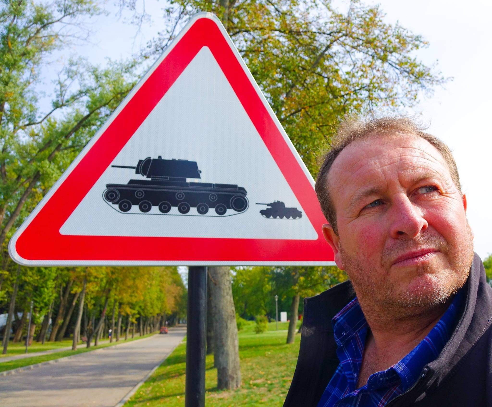 Minsk, Belarus. Dodging tanks in the last dictatorship in Europe