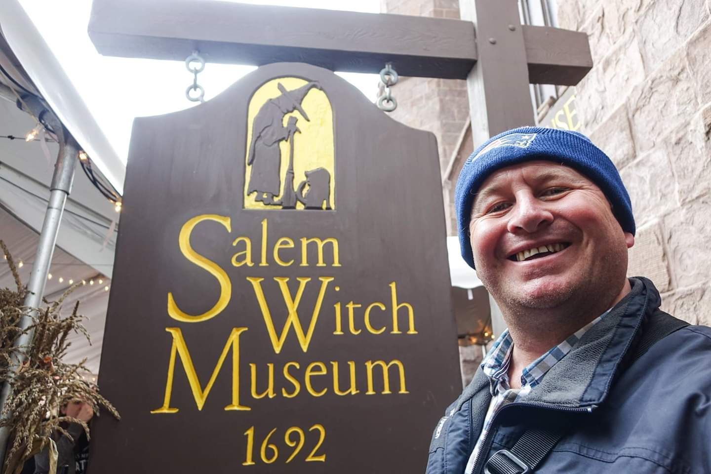 Salem, USA. Visiting my ex wives