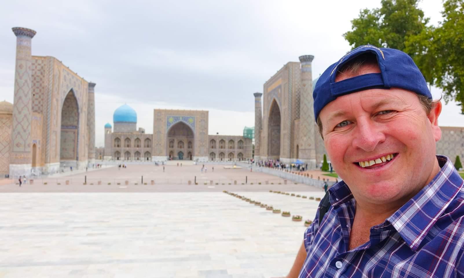 Samarkand, Uzbekistan. The incredible Registan square