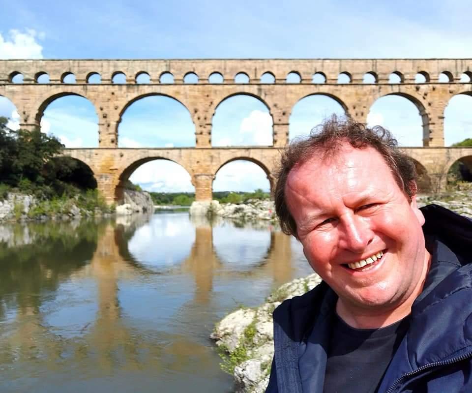 Vers Pont Du Gard, France. Visiting the ancient Roman aqueduct